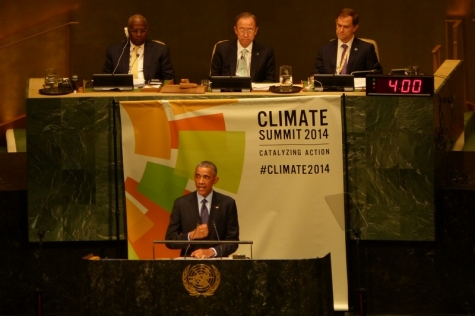 UN Climate Summit – actions and words